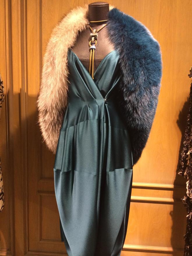 The Lanvin dress. Image courtesy: Rachel Laxer