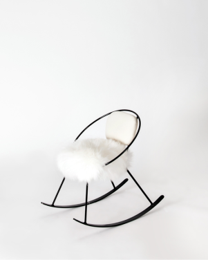 Image courtesy: Radel Home. Child's Hoop Rocker available at Viyet.