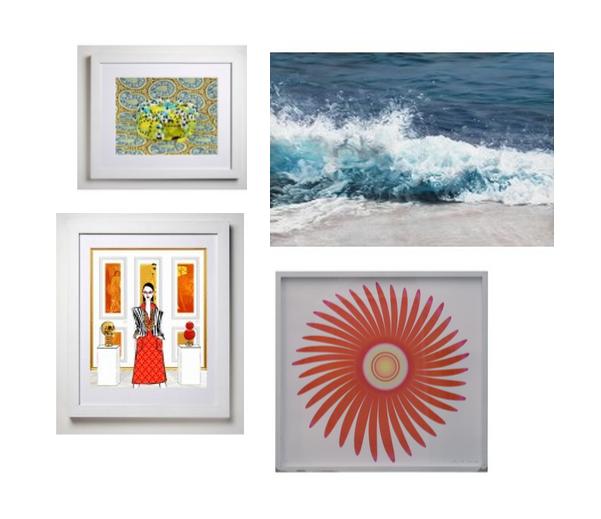 ArtStar Confections 42 Print, ArtStar Maldives Print, ArtStar Gallery Owner Print, Wind Flower Print by Ruth Adler