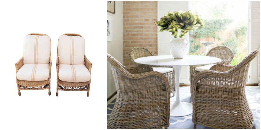 Wicker Collage