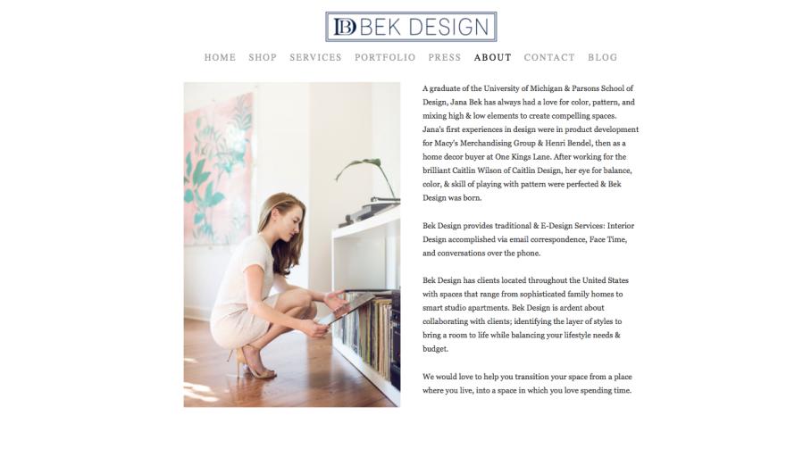 Bek Design Blog