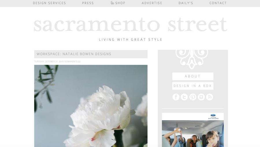 Sacramento Street Blog