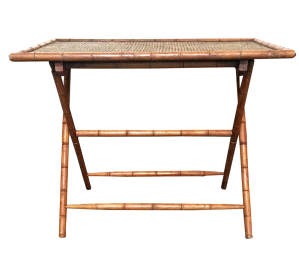 Vintage Bamboo Folding Table