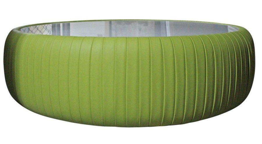 Green Ottoman