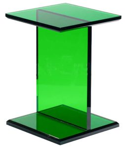 Green Plexi Craft Table