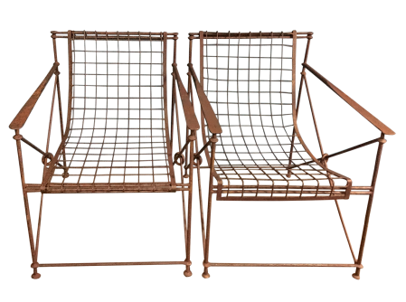 Iron Garden Chairs