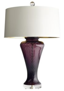 purple jan showers lamp