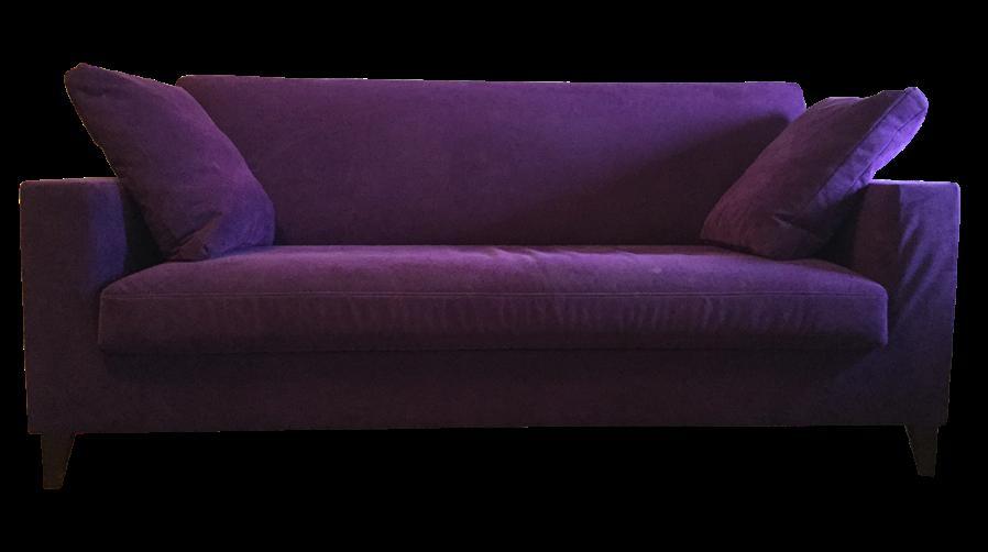 Purple Ligne Roset Sofa
