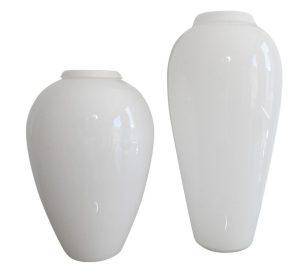 Glass Milk Glass Vases
