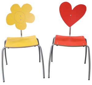 Heart Side Chairs