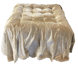 Hollywood Regency Divine Ottoman