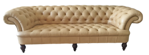Leather George Smith Chesterfield
