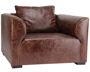 Masculine Cigar Lounge Chair