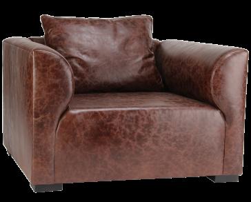 Masculine Cigar Lounge Chair