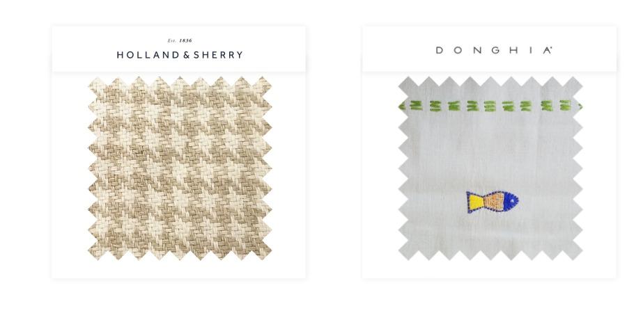 Fabric Collage Windows