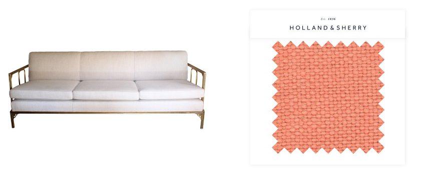 Fabric Sofa Collage