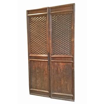 Red Antique Doors 1