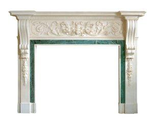 Fireplace Bespoke Palladian Mantel