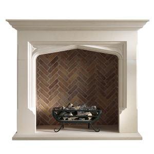 Fireplace Elizabethan Mantel