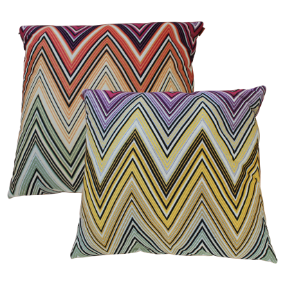 Summer Missoni Pillows