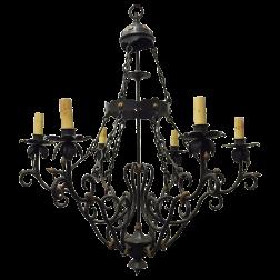 viyet-black-story-chandelier