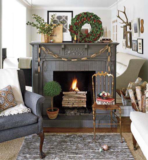 viyet-fireplace-holiday-low-key