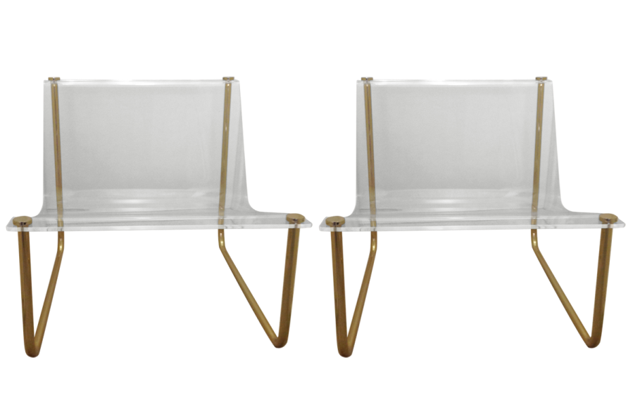 viyet-lucite-charles-hollis-jones-chairs