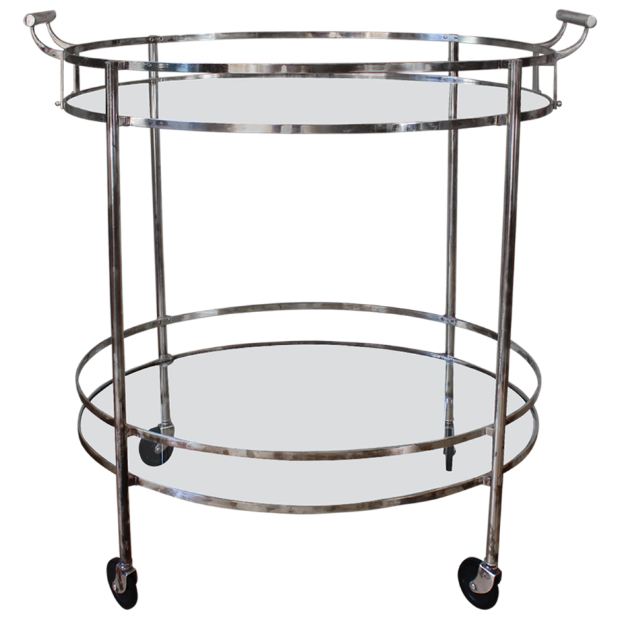 viyet-vintage-chrome-drinks-trolley