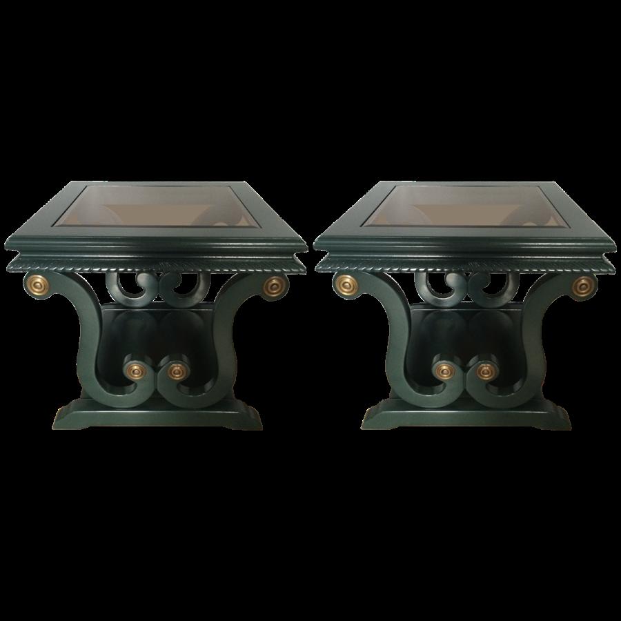 viyet-green-side-tables