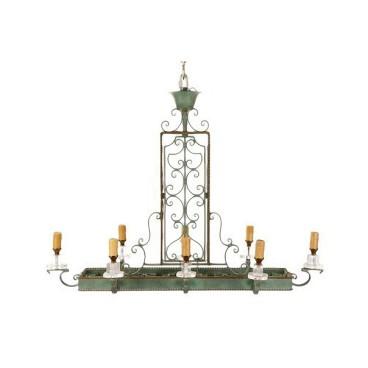 viyet-mardi-gras-green-chandelier