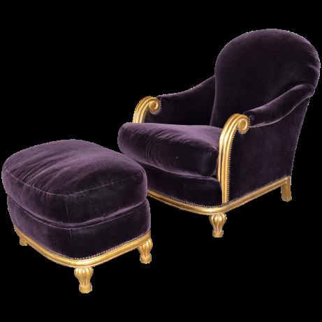 viyet-mardi-gras-purple-chair