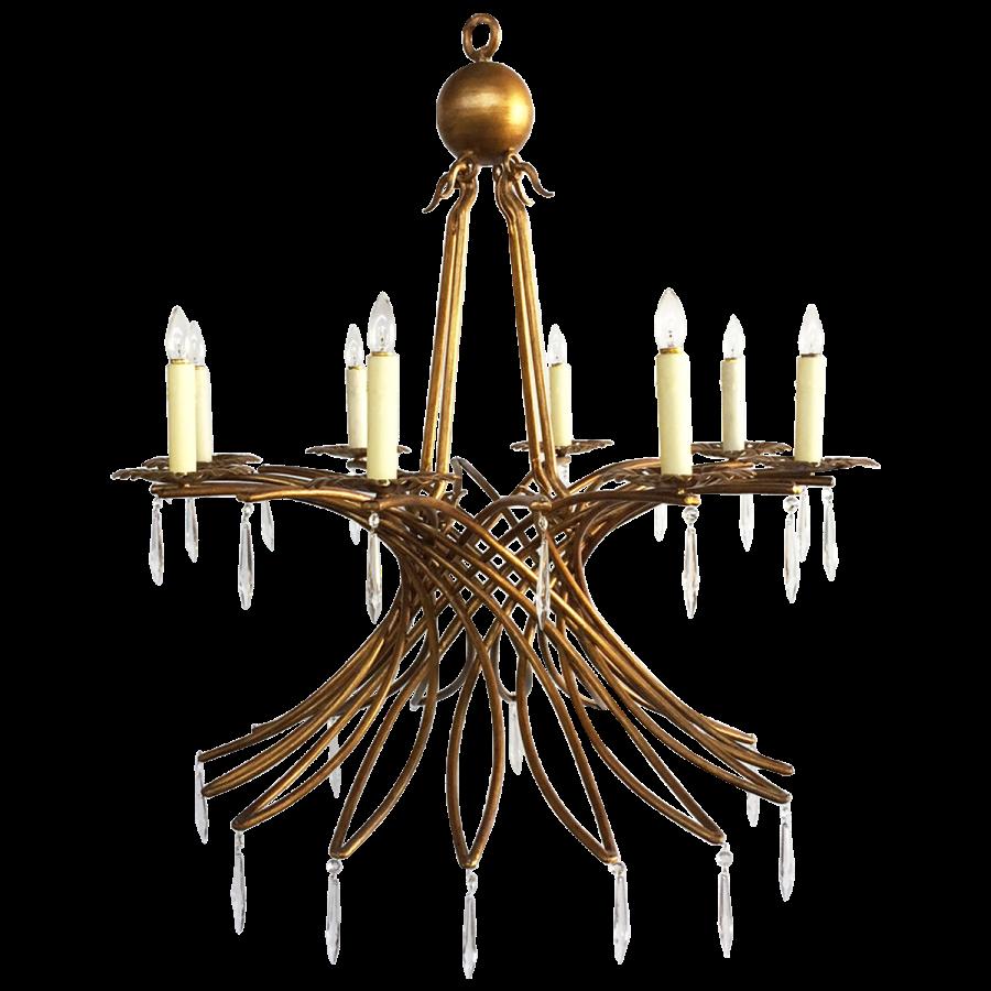 viyet-wrought-iron-chandelier