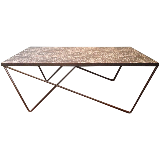 viyet-wrought-iron-coffee-table
