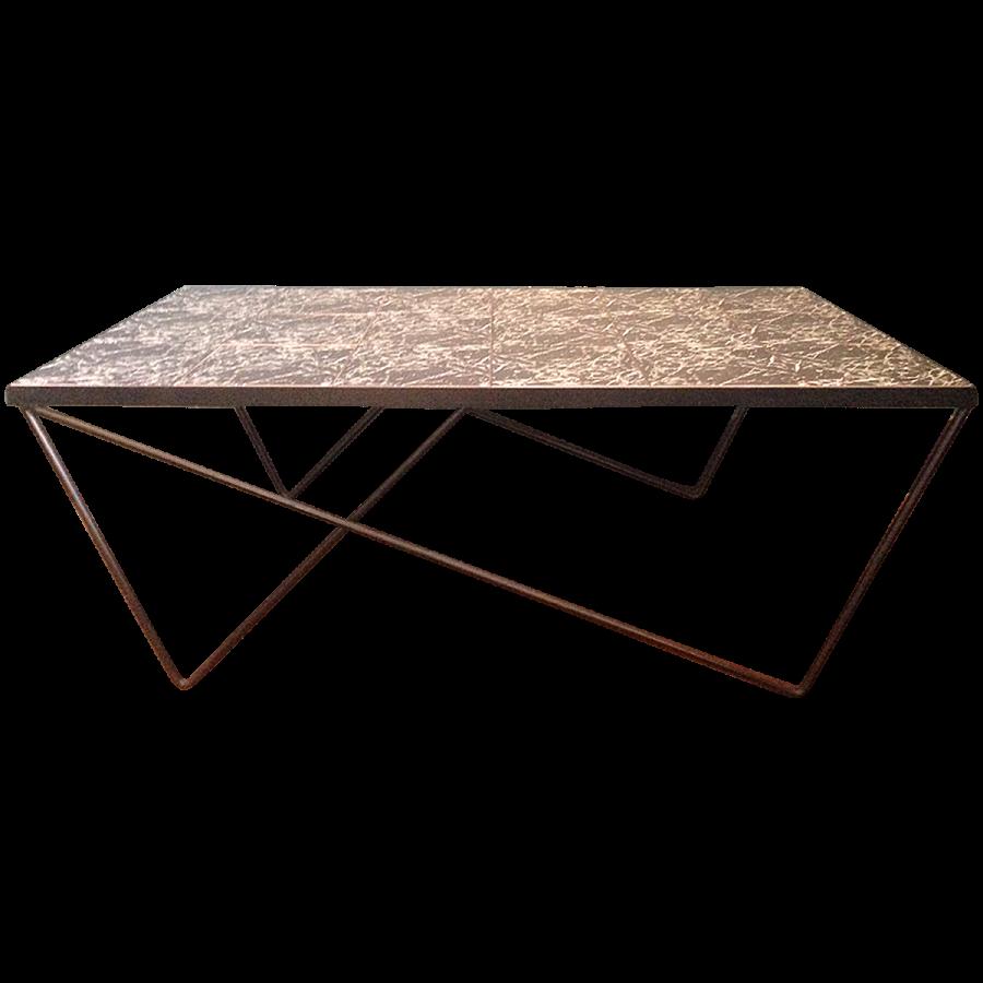 viyet-wrought-iron-coffee-table