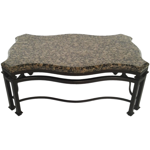 viyet-wrought-iron-murrays-iron-works-coffee-table