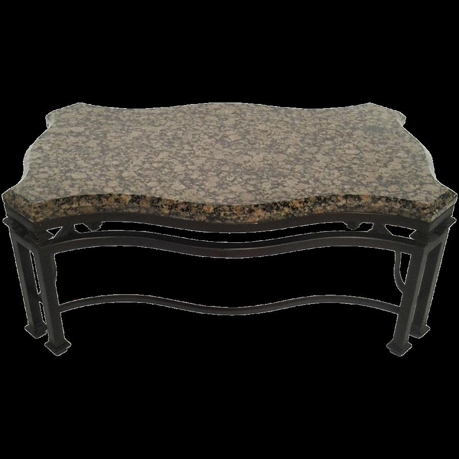 viyet-wrought-iron-murrays-iron-works-coffee-table