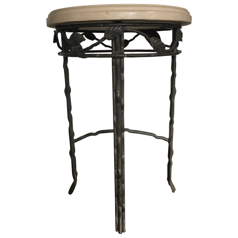 viyet-wrought-iron-side-table