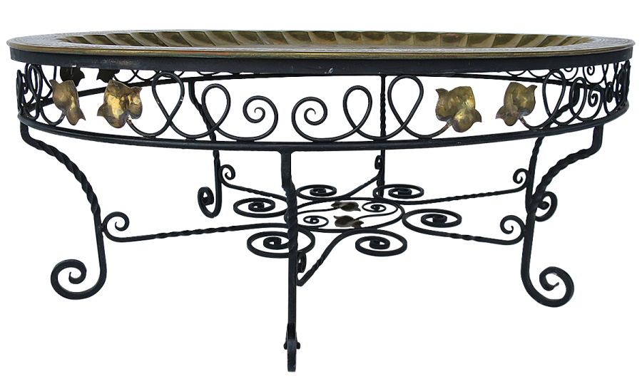 viyet-wrought-iron-vintage-cocktail-table