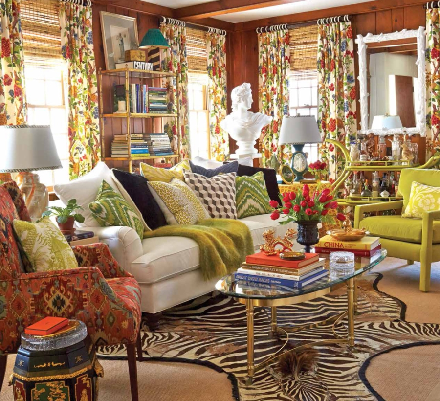 Living Room Furniture Mix And Match 4 rooms that perfected the mix-and-match look | v i y e t