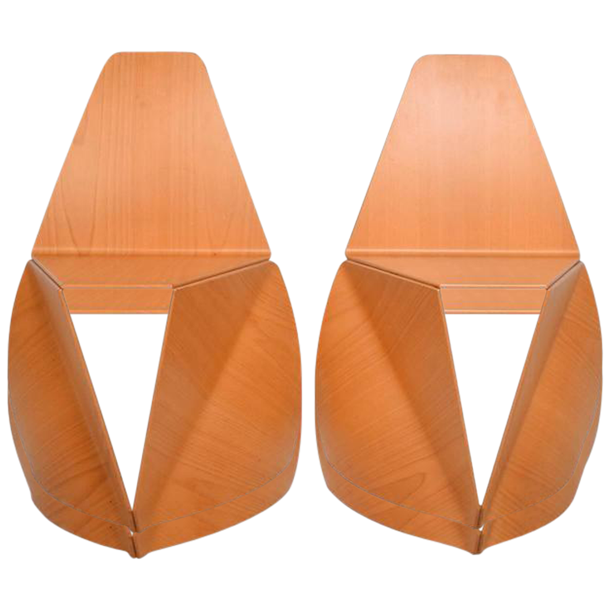 Modern Bent Plywood Chairs